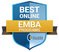 Best Online EMBA Programs logo, from College Consensus